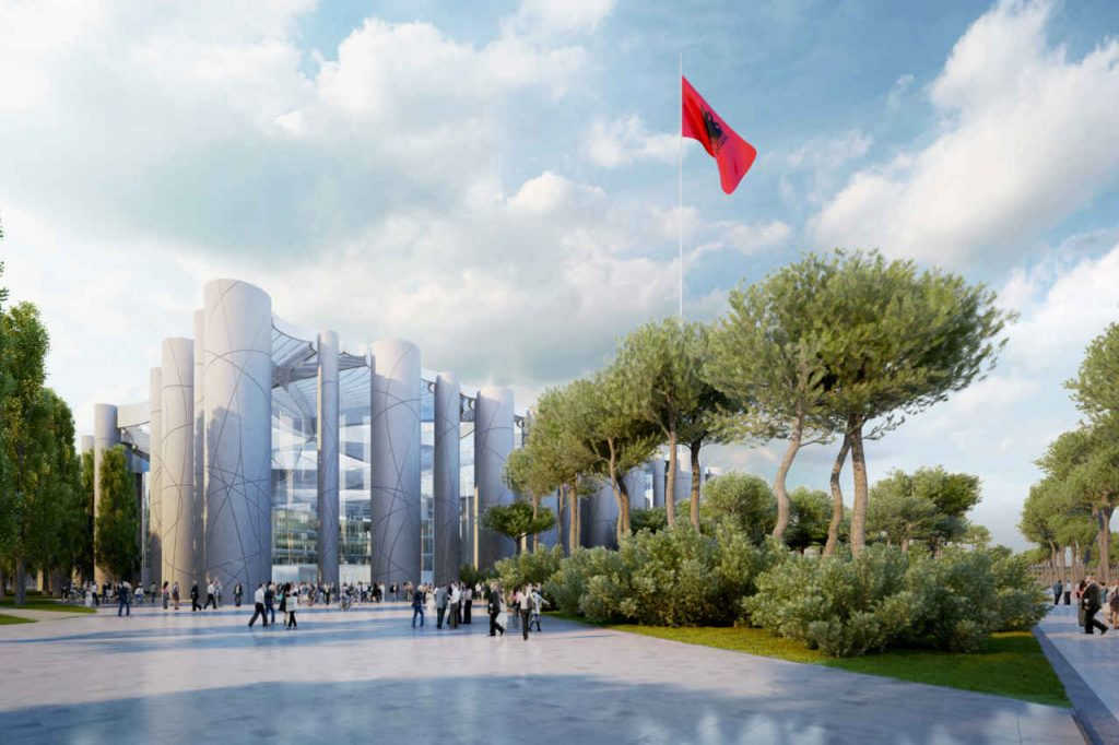 New Parliament for the Republic of Albania (2)