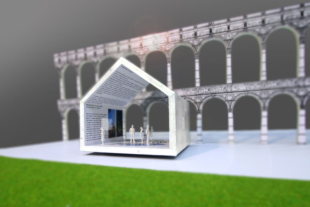 Pavilion for the exhibition \