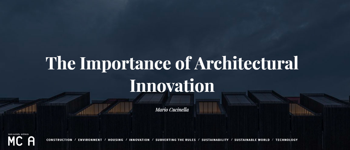 The Importance of Architectural Innovation