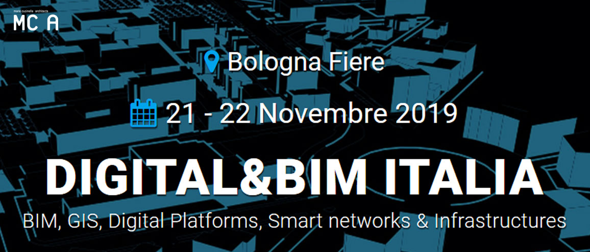 MC A al Digital&BIM Italia 2019